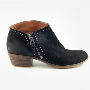 Lucky Brand | Benna Leather Heeled Bootie